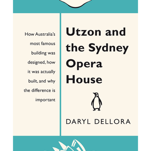 Utzon and the Sydney Opera House book cover Penguin