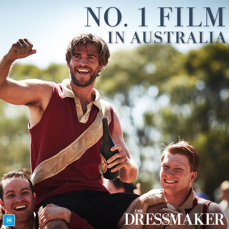 Liam Hemsworth - The Dressmaker #1 at Australian box office