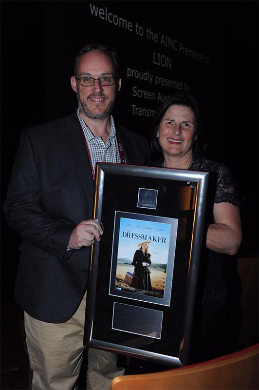 The Dressmaker Awarded Highest Grossing Australian Film at AIMC