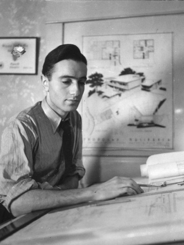 Harry Seidler at University of Manitoba, Winnipeg Canada c 1941-1944