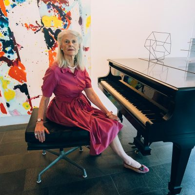Penelope Seidler at Harry & Penelope Seidler House Killara Sydney