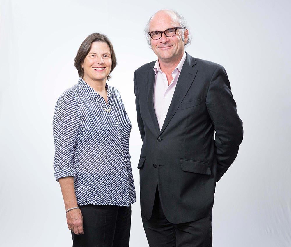 Sue Maslin and Daryl Dellora