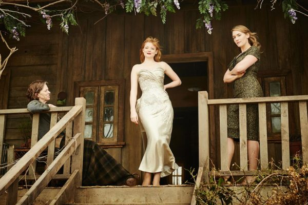 Judy Davis, Sarah Snook, Kate Winslet in The Dressmaker