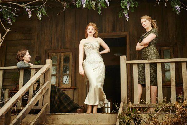 Judy Davis, Sarah Snook, Kate Winslet in The Dressmaker