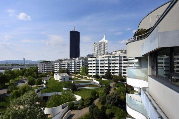 Wohnpark & Hochhaus Neue Donau, Vienna