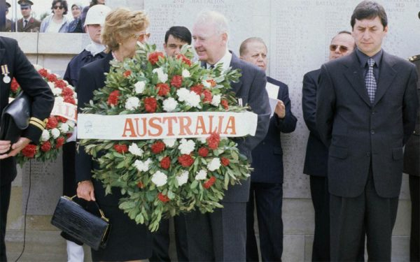 Still from Gallipoli: The Dawn Service of Sir William Deane, Governor General of Australia