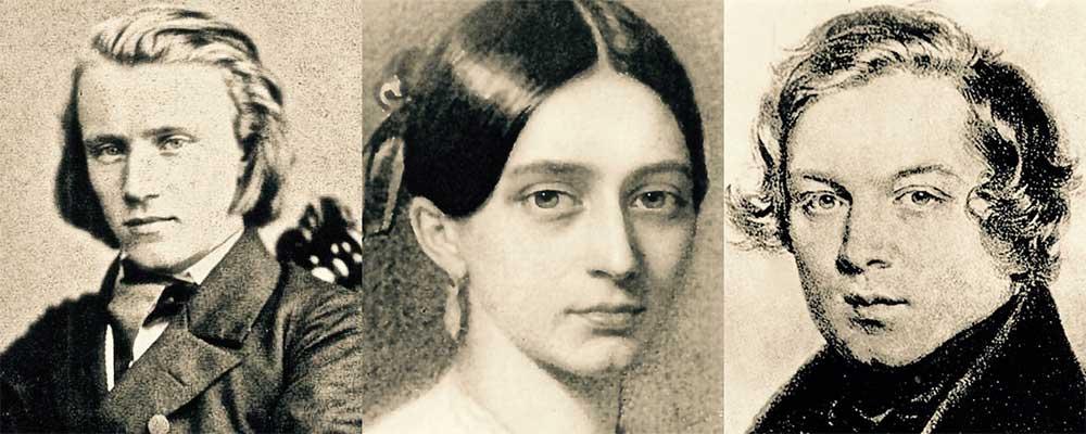 The Variations - Johannes Brahms, Clara Schumann, Robert Schumann