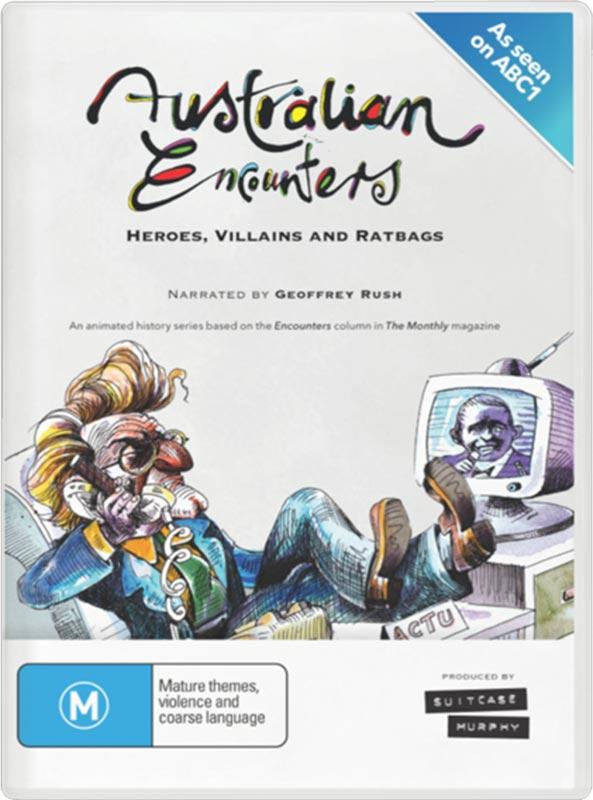 Australian Encounters DVD cover