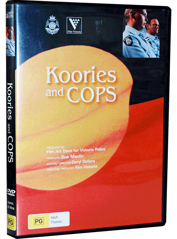 Koories & Cops DVD cover