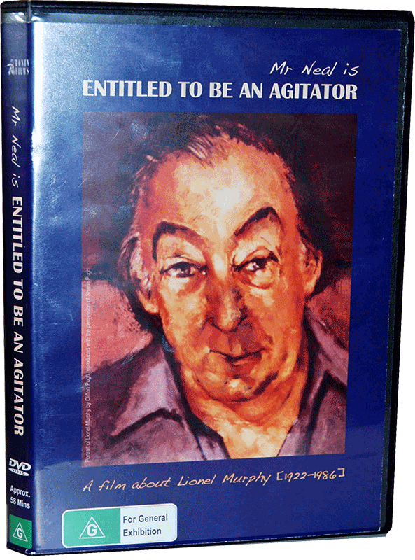 Mr Neal is Entitled to be an Agitator DVD cover