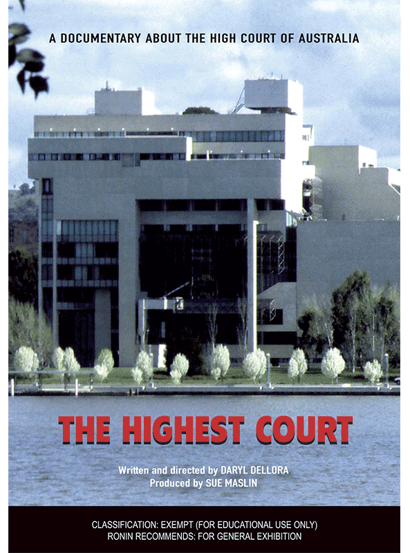 The Highest Court DVD