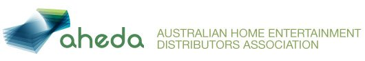 Australian Home Entertainment Distributors Association (AHEDA) logo