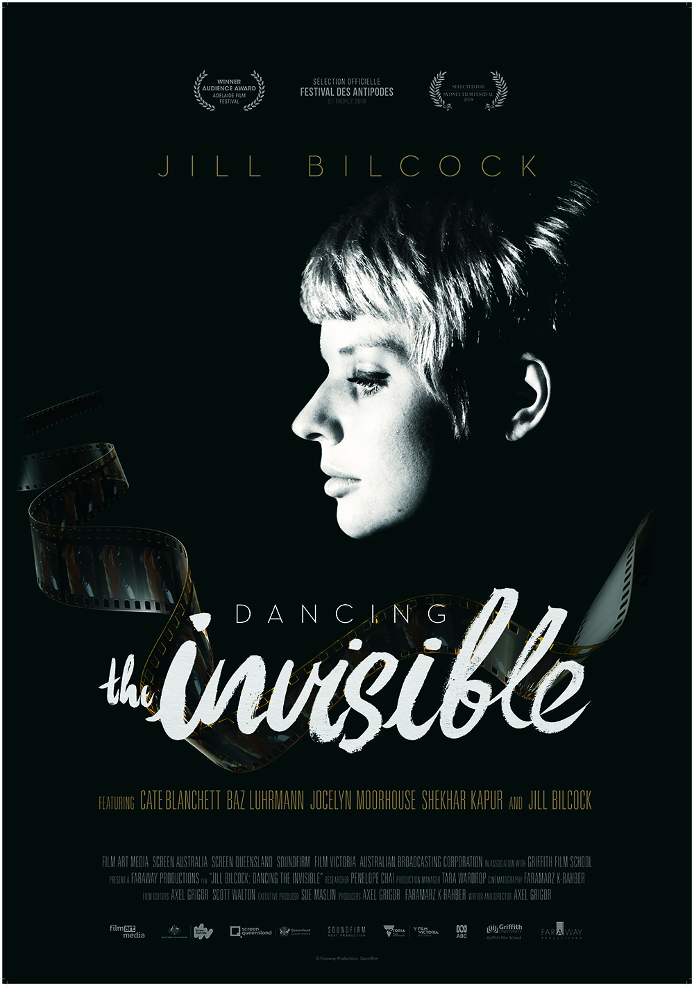 JILL BILCOCK: DANCING THE INVISIBLE set for theatrical release in Australia